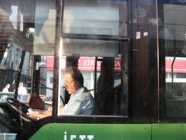 Bus Driver by physcop