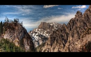 The Alps II by penner2000