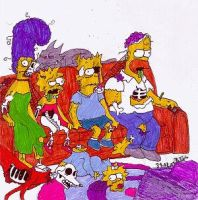 The Simpsons by xXHollyWoodXx