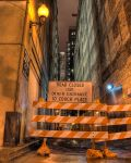 Entrance to Couch Place by spudart