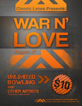 Band Advertisemen: War N' Love by SystemicHysteria