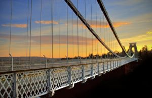 Clifton Bridge Sunset by northernmonkeyz