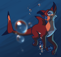 Sharkdog by clumzyme123
