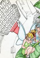 tinkerbell killed for a grandmother. by MagicianEpicArtist