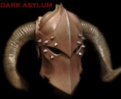 Demon helm2 by DarkAsylumxxx