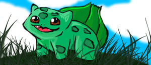 Bulbasaur for Justice by reizezdewickid