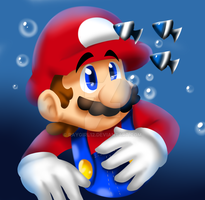 Mario 64 by raygirl12