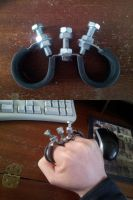 My Home Made Knuckle Duster by dragonbarnesz
