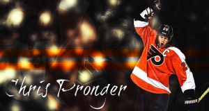 Chris Pronger Wallpaper by Sammzor