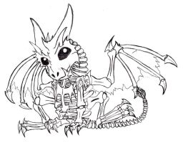 Chibi Frost Wyrm by Cybeles