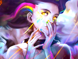 |Other| Rainbow Girl by WeedSexDesign