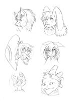 Armonia Headshots by Princess-Hanners