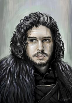 Jon Snow by craftigouschaktonomy