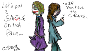 Joker and Two-Face.... by R-D-V-fan