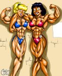 Betty and Veronica FBBs by AlphaCentaurian