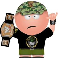 John Cena The WWE Champion by stevo90210