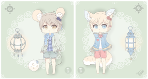 [Closed] Salvi Boys Adopts by CottonPuffAdopties