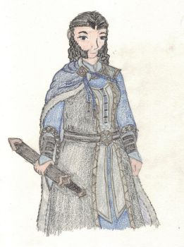 Queen Regent of the Blue Mountains by Hasami-hime
