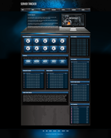 Gaming Web Template Server Tracker by RasonDesign