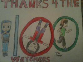 Thank you for the 100 watches by mango-chan88