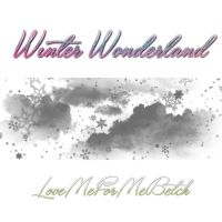 Winter Wonderland Photoshop Brushes by LoveMeForMeBetch
