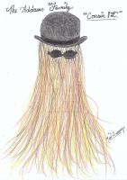 Cousin Itt by xxX-Co-Jack-Xxx