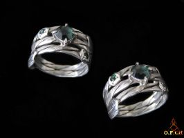 Lizard ring by OFCH