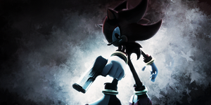 Shadow The Hedgehog Smudge Signature by UriahCGFX