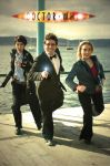 Doctor Who: The Greatest Trio by haraju2girls