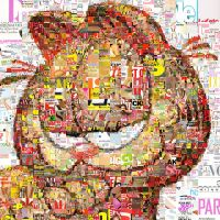 Garfield Mosaic by Cornejo-Sanchez