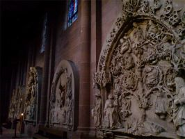 Cathedral Sculptures by darkhoodness