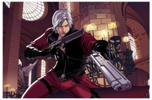 Dante Commission by amilcar-pinna