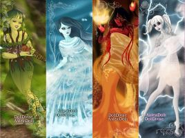 The 4 Elements by GirlyPinkRox