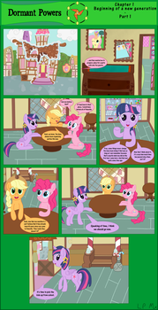 Dormant Powers - Chapter 1 - Part 1 by LPMx