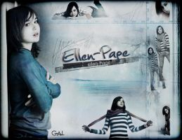 ellen page by gal-bar
