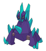 Request: Shiny Gigalith by FelineFanatic