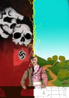 Hitler Evil/Gay Commission WIP by TheFranology
