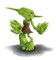 Daily Painting #7: Goblin by Mumpkins