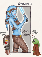 Aayla Secura by pecheresses