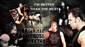 Dean Ambrose wallpaper for Al by RollingStar89