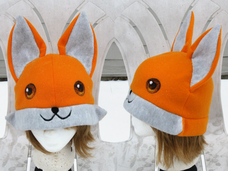 Fox Hat by clearkid