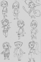 Windwaker Doodles by Kjbionicle