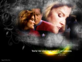 Janeway/Chakotay: You're the light... by Belanna42