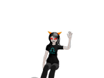 Terezi: Sit in thin air by manga-derpette