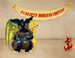 AP Concentration: The Scariest Monster by rockingyourstar
