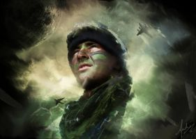 Army star by Andre00x
