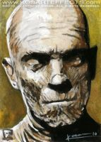 The Mummy - Sketch Card by KOSARTeffects