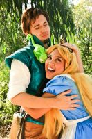 :Alice and Flynn: by Lil-Kute-Dream