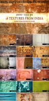 18 textures from India by boeenet