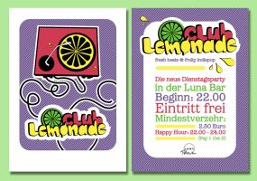 Lemonade Club Flyer by rockst3ady